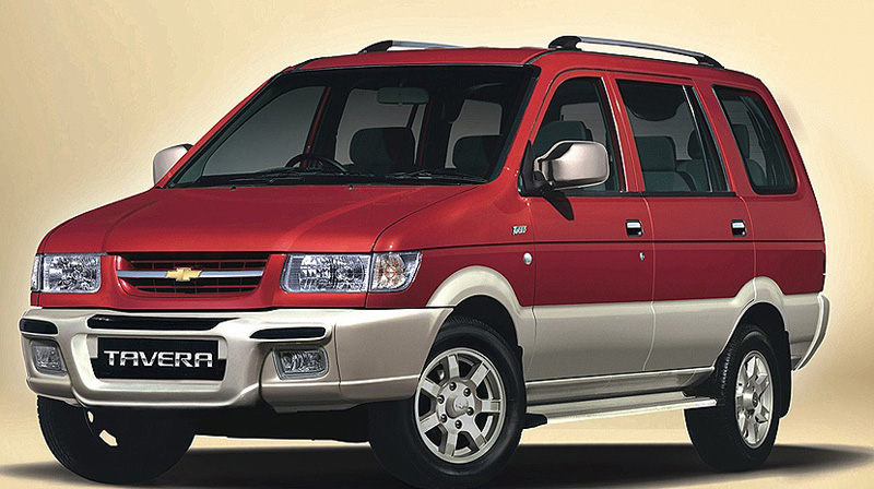 Latest Chevrolet Tavera will have a 2.0L Sonalika Rhino engine