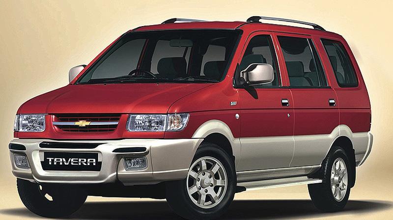 Latest Chevrolet Tavera will have a 2.0L Sonalika Rhino engine