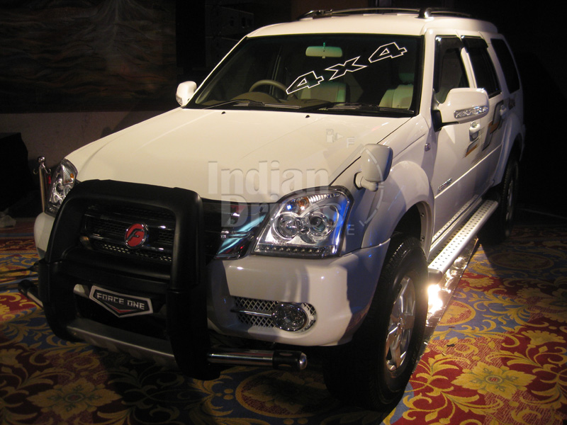Force One 4WD to be Introduced at 2012 Auto Expo