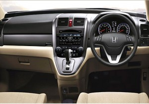 Honda CR V interior