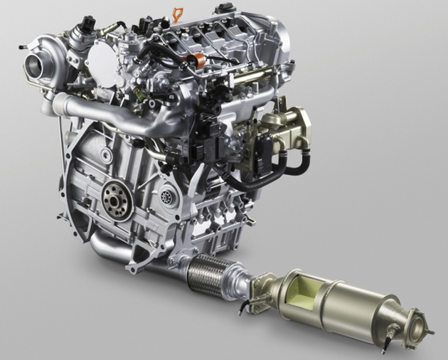Honda 1.6L i-DTEC engine