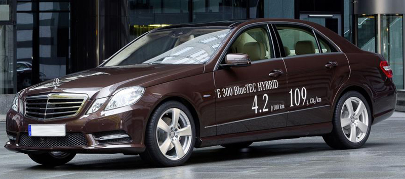 Mercedes Benz E-class Hybrid Car Range Unveiled