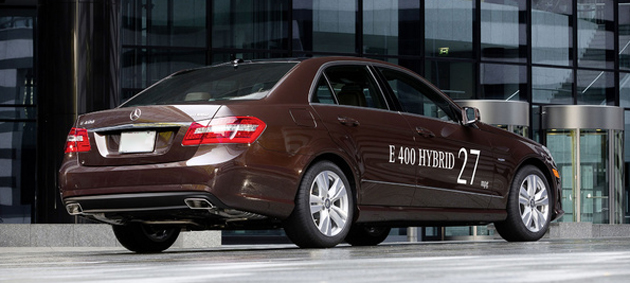 Mercedes Benz E-class Hybrid Car Range Unveiled