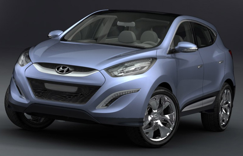 Hyundai HND-7 global premiere at the Delhi Auto Expo