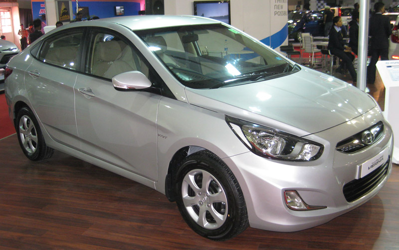 Hyundai Verna Fluidic in India