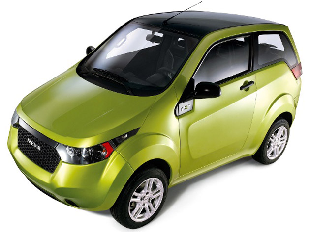 Mahindra Reva NXR Small Electric Car To Be Launched In April 2012
