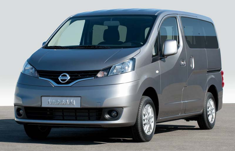 Nissan NV200 to be launched at the Delhi Auto Expo 2012