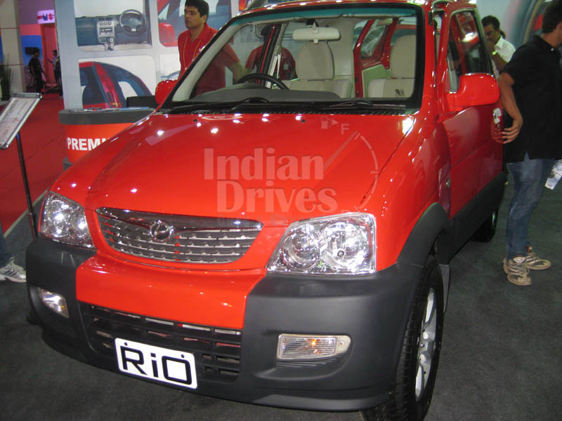 Premier BSIV compliant Rio petrol to be unveiled at the Delhi Auto Expo