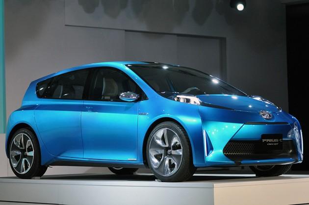 Toyota Prius C at Detroit Motor Show