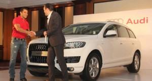 Audi India Gifts Salman Khan Q7 for Bodyguard's Success