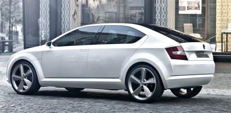Skoda VisionD Concept New Images Unveiled
