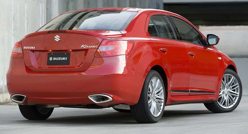 Suzuki Kizashi Sport introduced