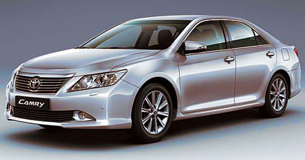Toyota Camry to be showcased at the 2012 Auto Expo