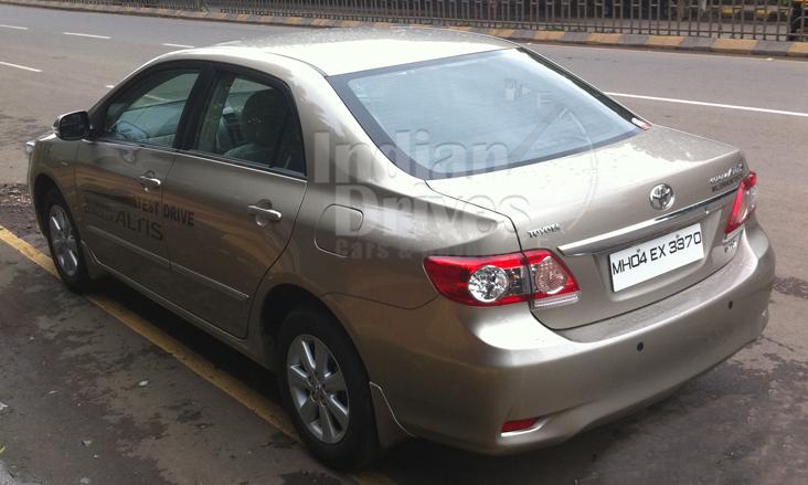 Toyota Corolla Altis In India