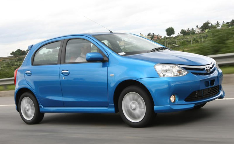 Toyota will start exporting the Etios to South African markets from March