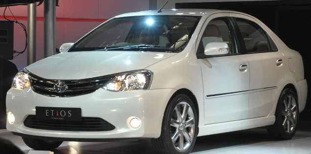 Toyota Etios in India