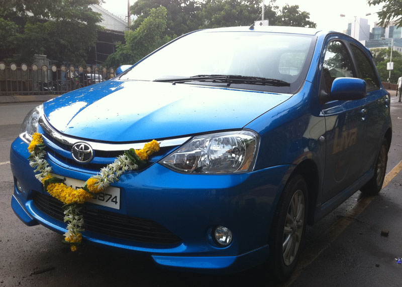 Toyota Liva in India