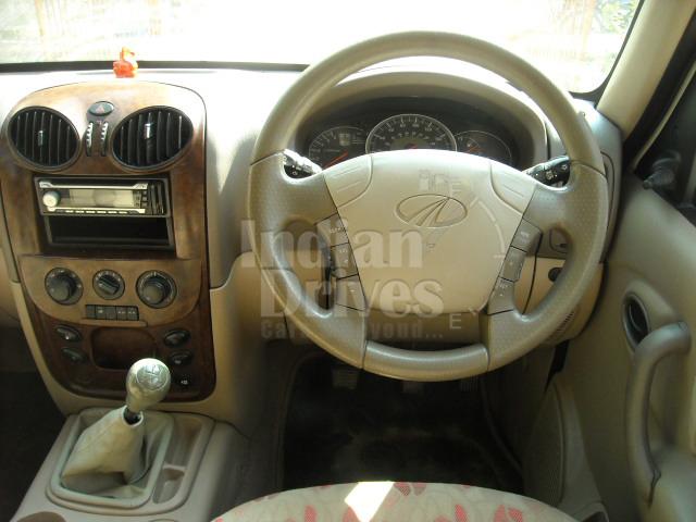 Used Mahindra Scorpio interior
