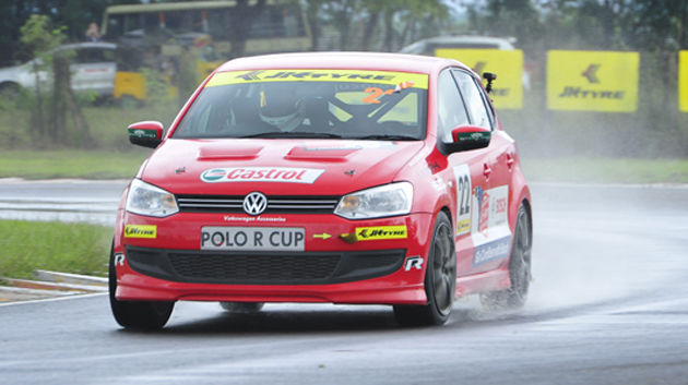 Volkswagen Race Polo going to participate in Night Races in Sri Lanka