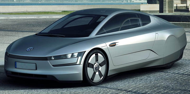 Volkswagen to unveil its XL1 concept car at the Delhi Auto Expo