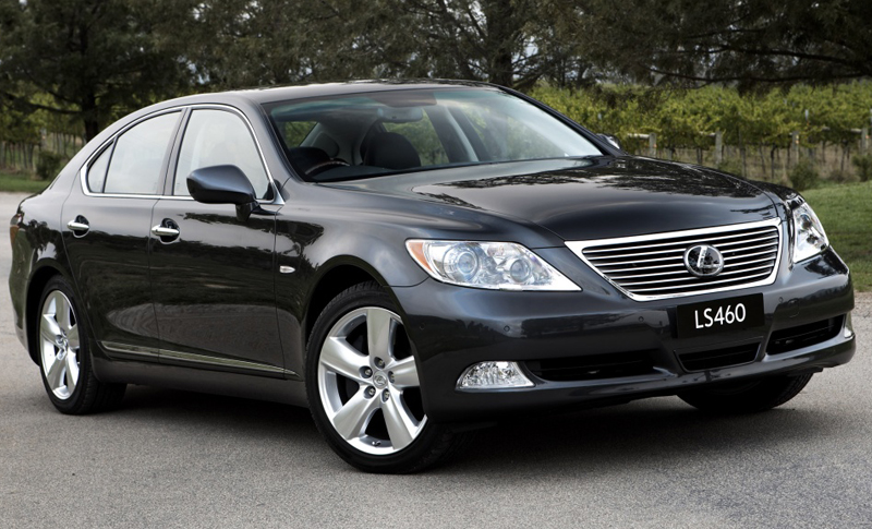2012 Lexus LS 460 in India