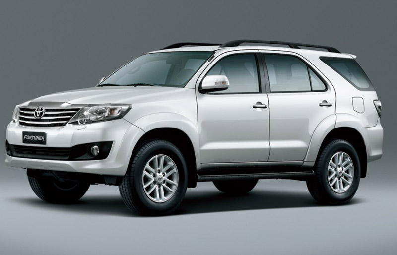 2012 Toyota Fortuner in India