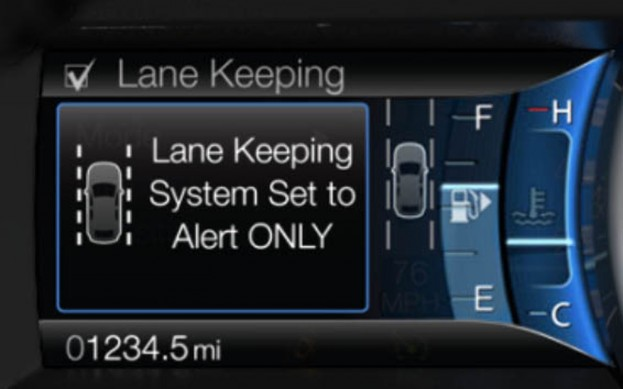 2013 Ford Fusion to offer lane keeping system