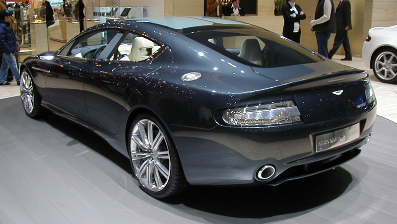 Aston Martin Rapide wins Top Honors in Switzerland