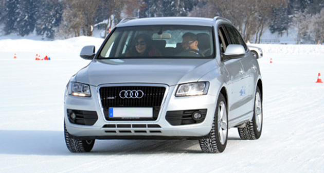 Audi Ice Driving Experience in Davos