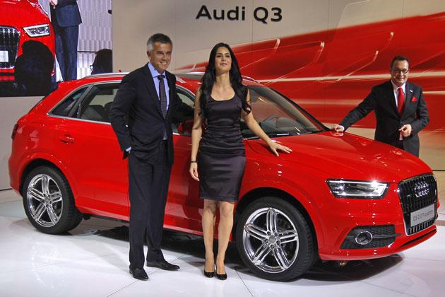 Audi Q3 unveiled by Katrina Kaif