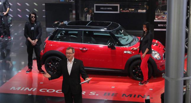 BMW Mini brand at 2012 Delhi Auto Expo