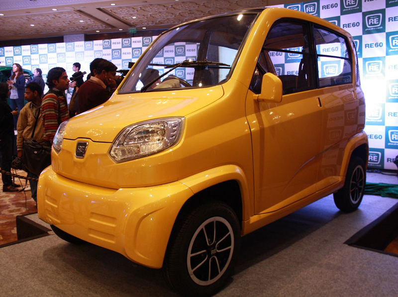 Bajaj RE60 in India