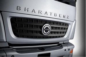 BharatBenz trucks in India