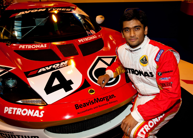 Boliseti all set to race at the British GT Championship