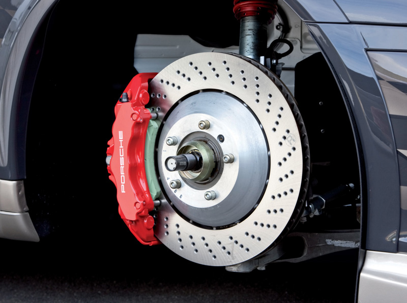 Care for a car brakes