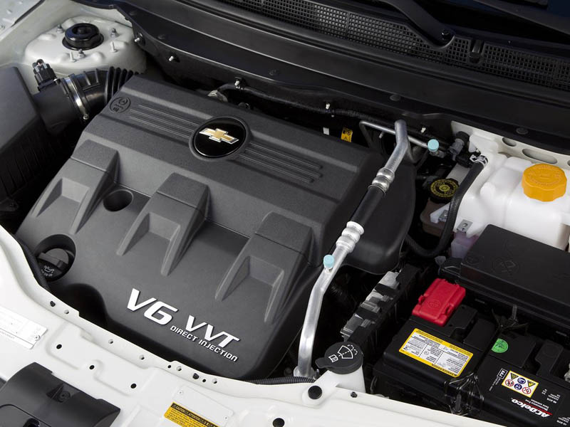 Chevrolet Captiva engine