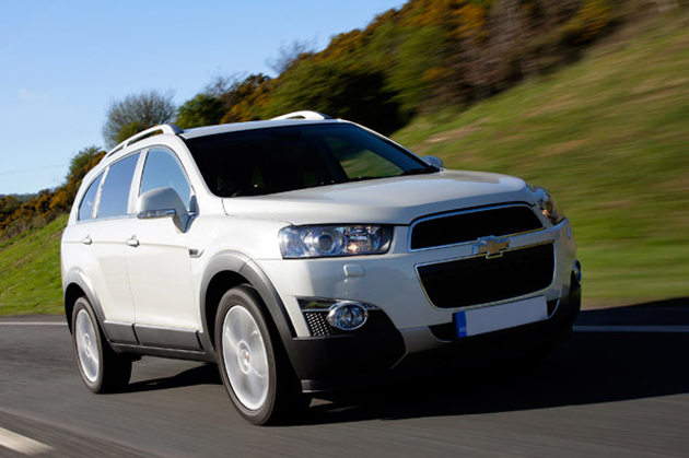Chevrolet Captiva in India
