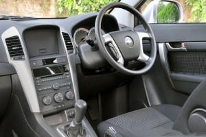 Chevrolet Captiva interior