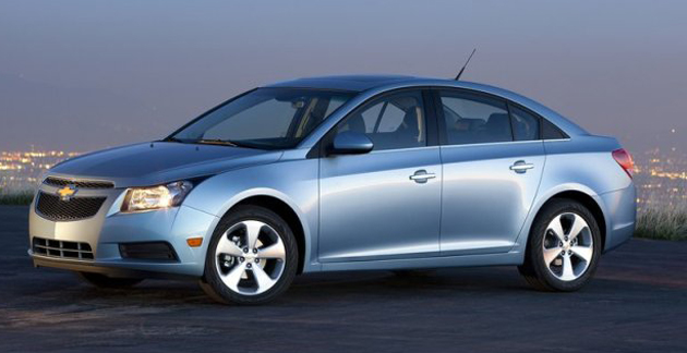 Chevrolet registers record global sales in 2011
