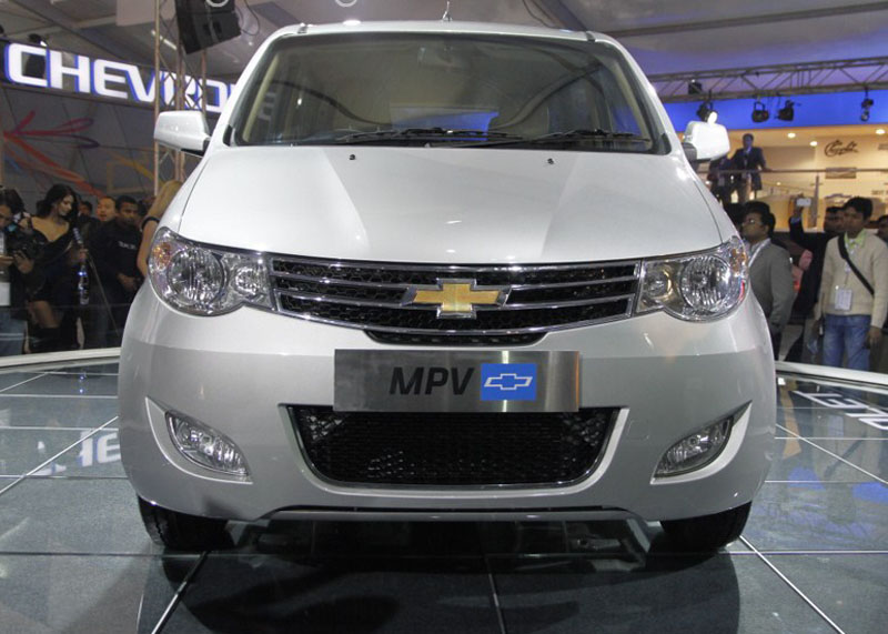 Chevrolet MPV at 2012 Auto Expo in Delhi