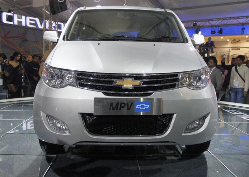 Chevrolet MPV at 2012 Auto Expo in Delhi