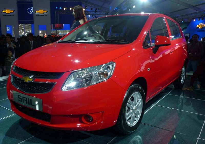 Chevrolet Sail Hatchback in India