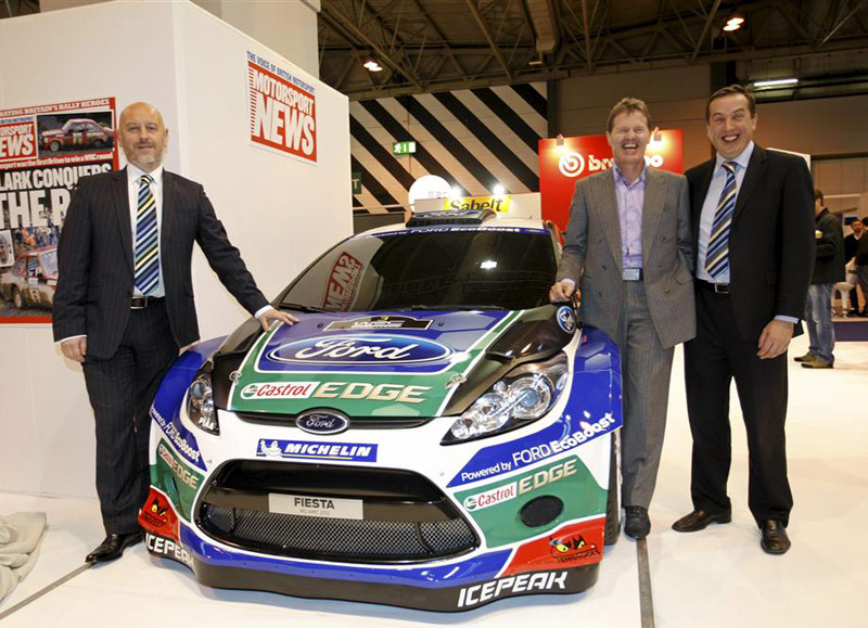 Ford 2012 Fiesta RS World Rally Car unveiled