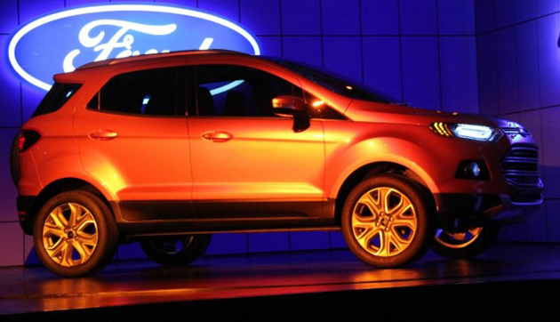 Ford EcoSport to co-exist in the Indian market with the Fiesta sedan