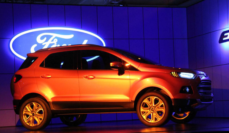 Ford EcoSport launched in the Indian market