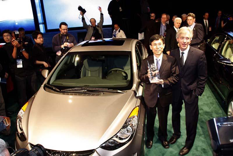 Hyundai Elantra gets best North American Car award