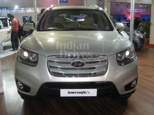 Hyundai Santa Fe in India
