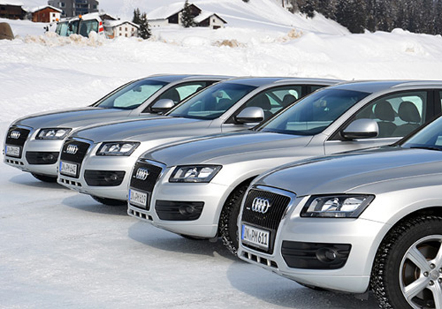 Premier Indian Business leaders enjoy Ice-Driving experience organized by Audi