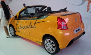 Maruti A-Star Cabriolet in India