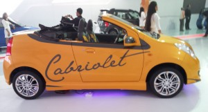 Maruti A-Star Cabriolet in India